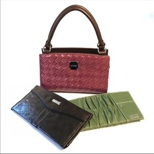 Miche classic brown base bag w/ 3 magnetic covers